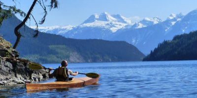 Kayaking Tours in Revelstoke above the Dam