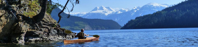 Kayaking Tours in Revelstoke above the Dam