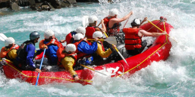 Revelstoke White Water Rafting