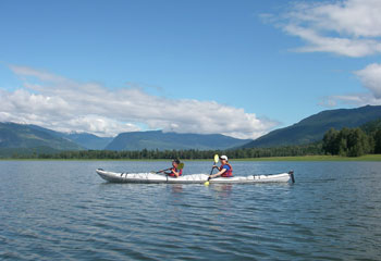 Double Plastic Kayak Rental