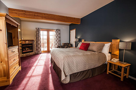Glacier House King Room