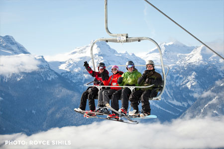 Group Skiing Lesson