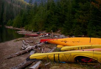Classic Canadian Kayak Camping