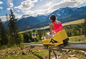 The Pipe Mountain Coaster