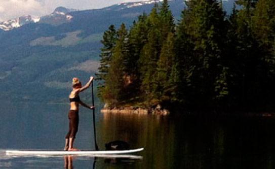 Stand-up Paddleboarding Revelstoke