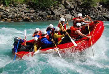 Revelstoke White Water Rafting