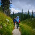 Avalanche Canada Fundraiser Trek on Mount Revelstoke