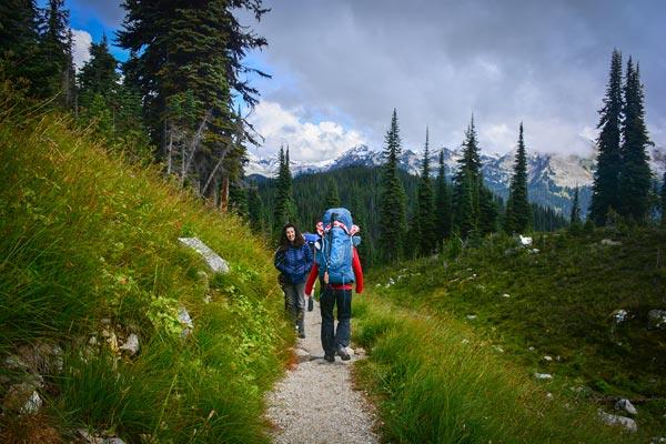 Avalanche Canada Fundraiser Trek on Mount Revelstoke