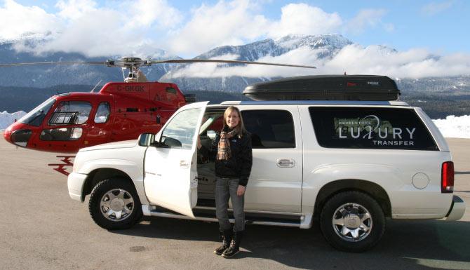 Revelstoke SUV Transfers