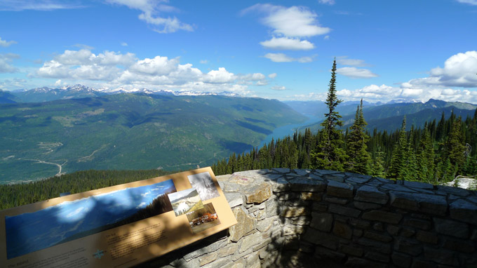 View from Mount Revelstoke