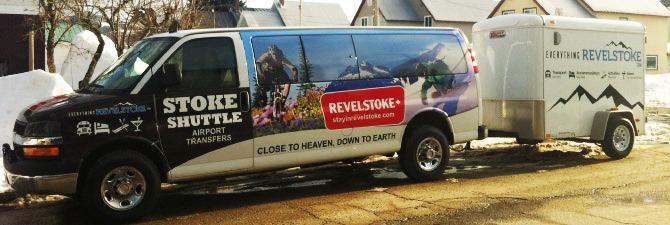 Stoke Shuttle Van