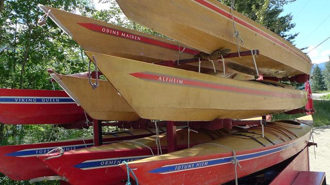 Handmade Wooden Kayaks