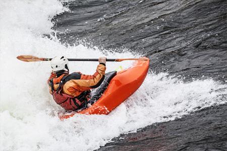 White Water Kayaking in Revelstoke