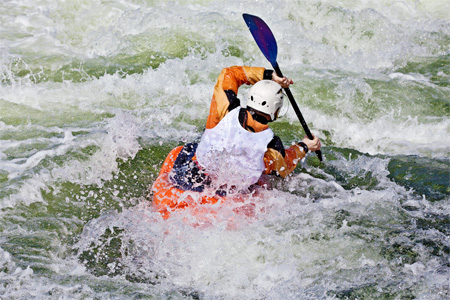 White Water Kayaking in Revelstoke
