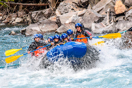 White Water Rafting in Revelstoke
