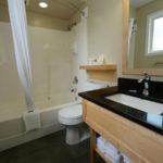 Swiss Chalet Motel Bathroom