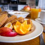 Swiss Chalet Motel Breakfast