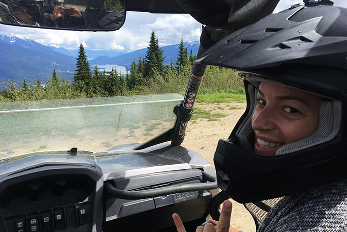 ATV Tour on Boulder Mountain