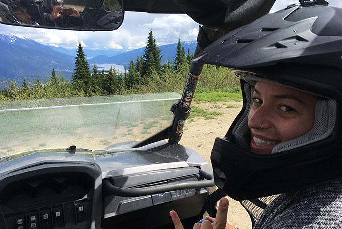 ATV Tour on Boulder Mountain