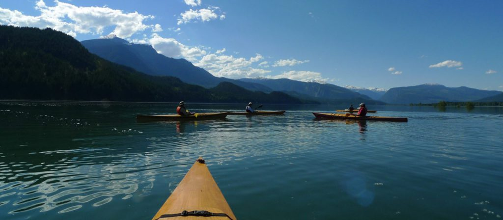 Kayaking in Revelstoke