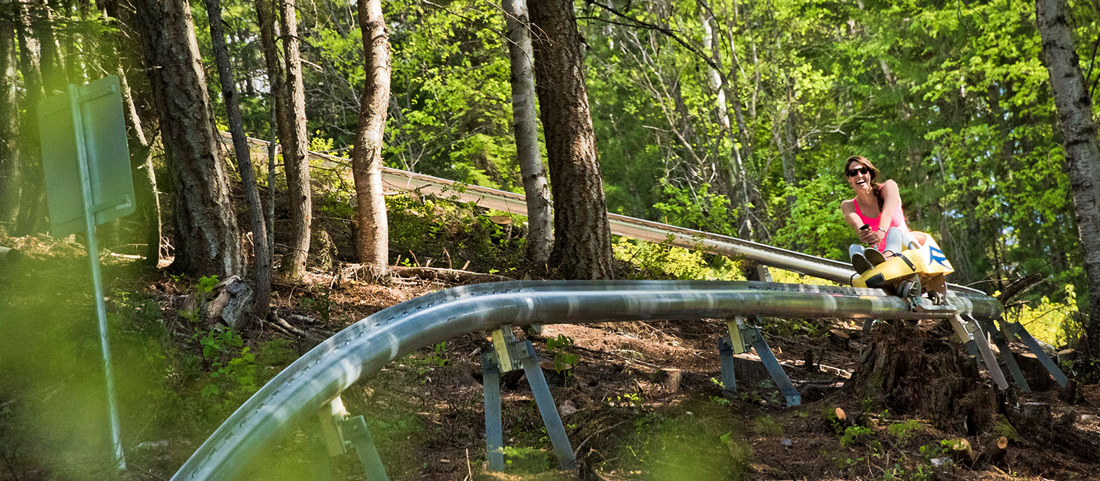 Revelstoke Mountain Coaster