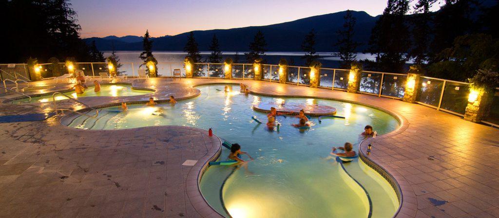 Halcyon Hot Springs Tour